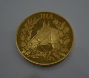 JRA 優勝記念メダル