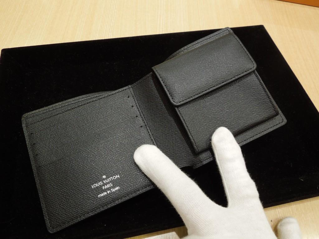 ダミエ 二つ折り財布