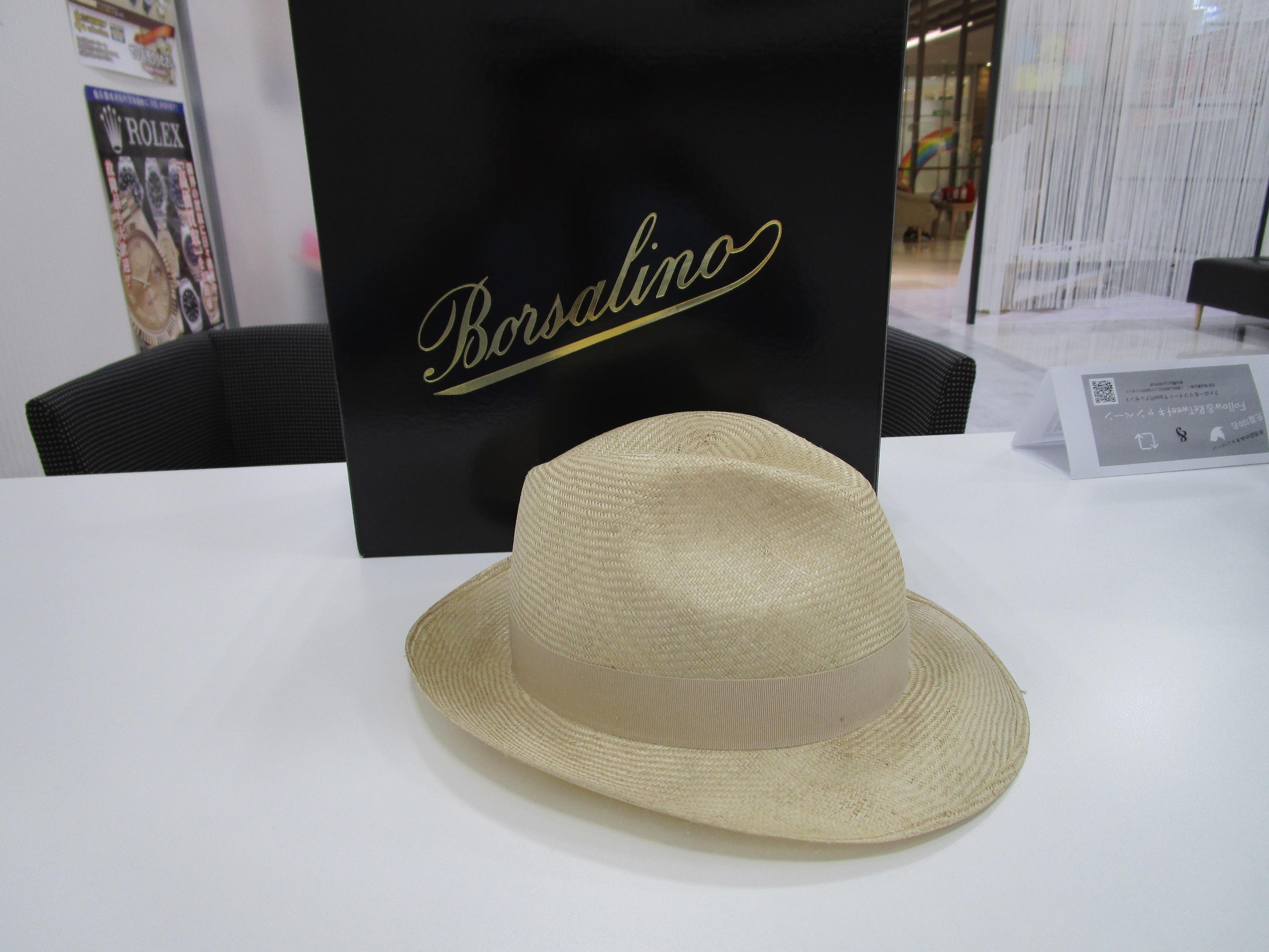 ボルサリーノ パナマハット 1