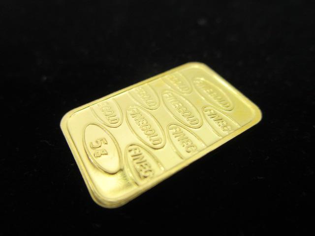 田中貴金属 K24 純金 プレート