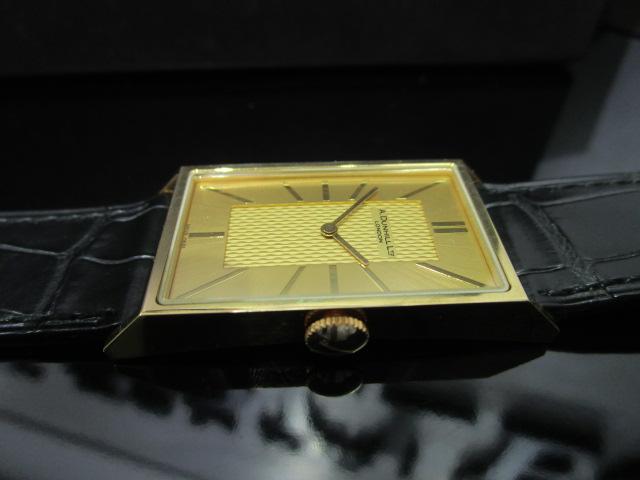 ダンヒル 時計 K18 スクエア-2