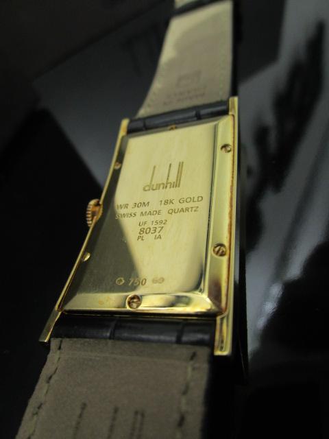 ダンヒル 時計 K18 スクエア-33