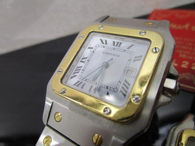 カルティエ 時計 サントス