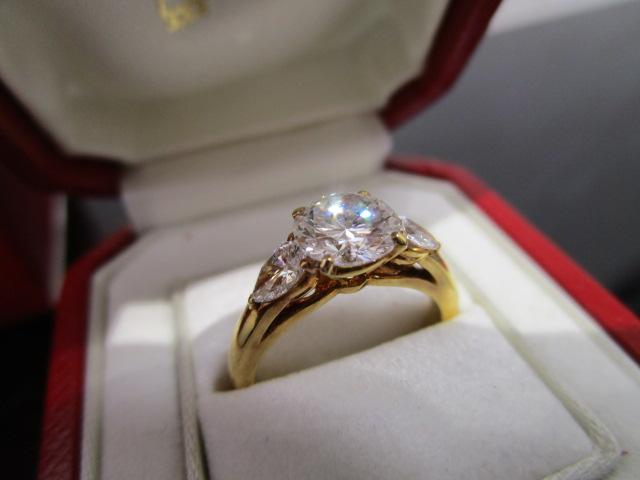 カルティエ ダイヤモンド リング-2