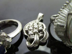 サファイヤ オパール ダイヤ 貴金属 指輪 プラチナ-1 (4)