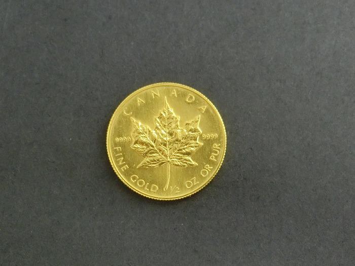 K24 メイプルリーフ 金貨